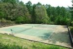 旧軽倶楽部 テニスコート